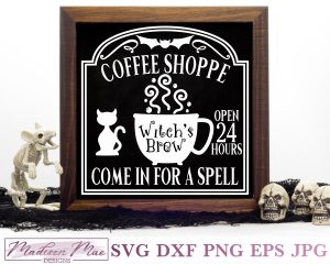 Witches Brew Coffee Shoppe Cover