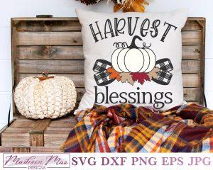 Harvest Blessings Pumpkin Cover