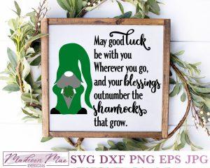 Irish Blessing Gnome 2